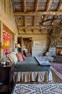Idee decorare dormitor rustic