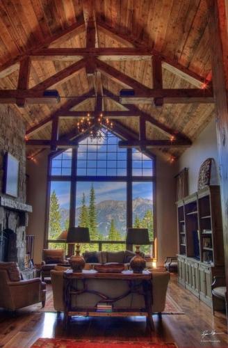 Interior pur rustic