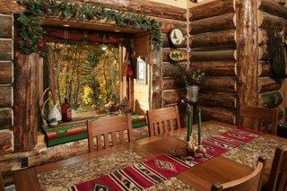 Interior traditional rustic