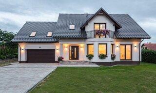 Casa frumoasa cu parter si etaj