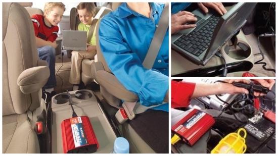 Invertoarele auto - solutia optima pentru incarcarea laptopului in masina