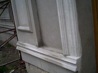 Brau exterior decorativ aplicat pe casa izolata cu polistiren