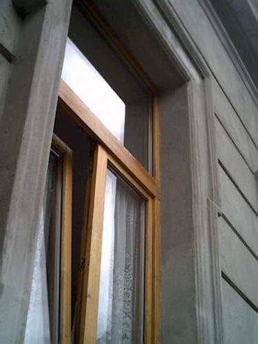 Vedere fadata casa tencuita si placata cu polistiren