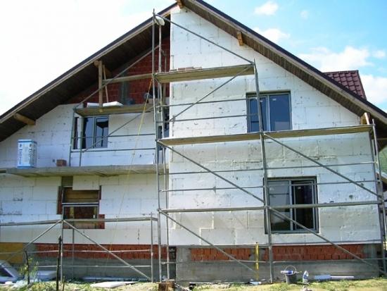 Izolatie exterioara casa cu polistiren