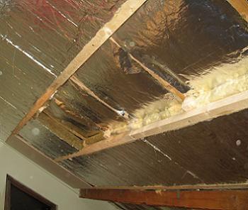 izolatie acoperis de la mansarda cu vata bazaltica