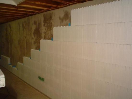 Izolare interioara a peretilor cu polistiren
