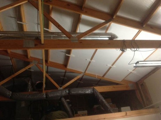 Izolare tavan de mansarda cu polistiren