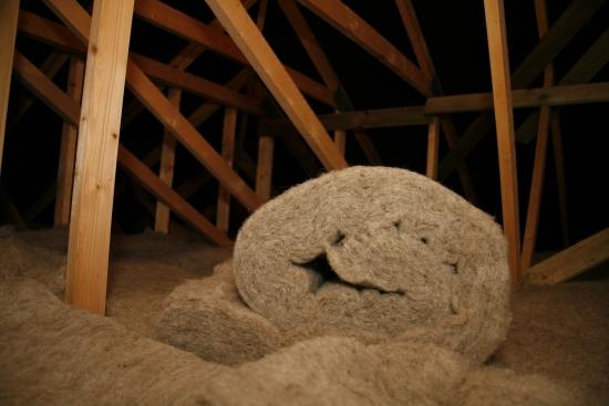 Balor de lana de oaie pentru izolatie