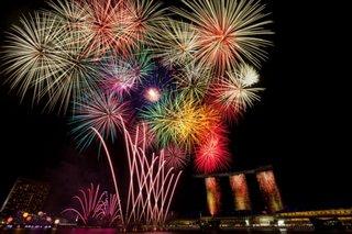 Artificii in noaptea de Revelion