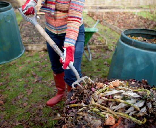 Amestecare compost