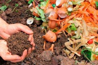 Compost din deseuri organice