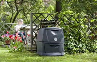 Lada moderna de compost