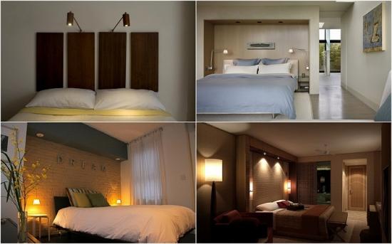 Modele de lampi si veioze pentru citit in dormitor - 20 de fotografii inspirationale
