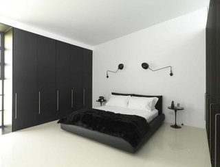 Lampi negre de perete
