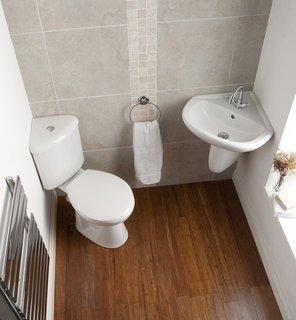 Schema montare obiecte sanitare in baie mica