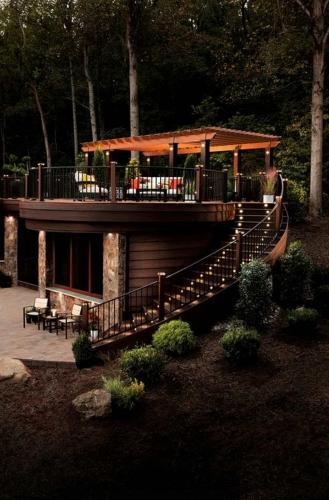 Design de terasa de restaurant