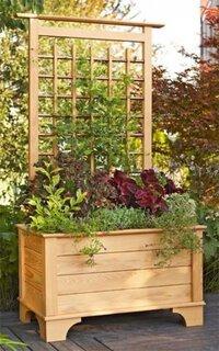Jardiniera facuta din lemn proiect DIY