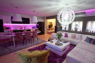 Living cu design violet