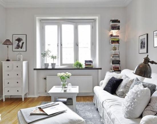 Sufragerie mica amenajata in stil scandinav