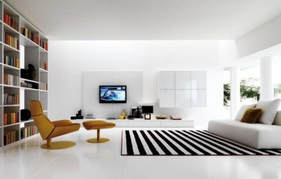 Living minimalist alb