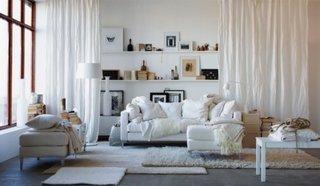 Living cu mobilier stil ikea