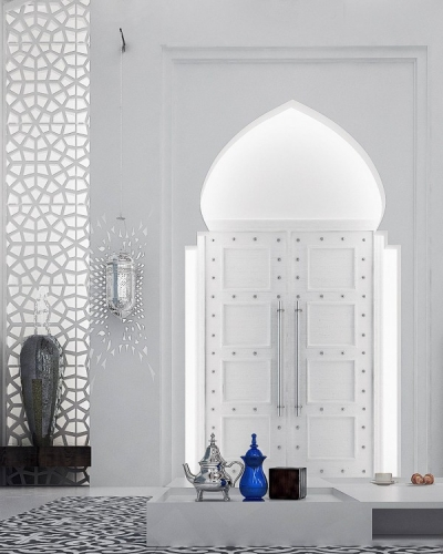 Intrare cu arc marocan
