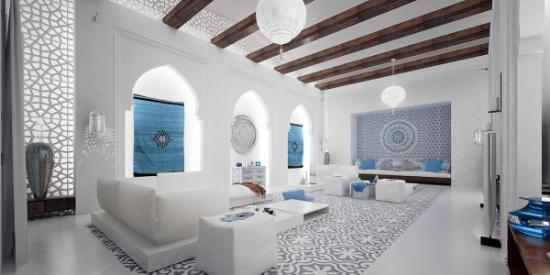 Living amenajat traditional cu accente de modernism
