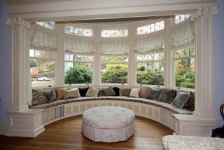 Zona de relaxare la fereastra