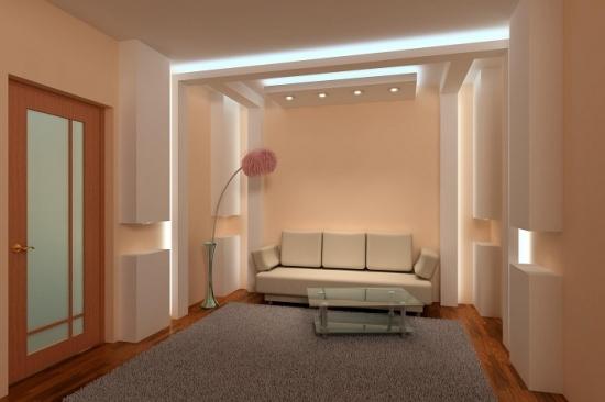 Interior frumos in nuante de bej