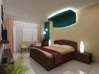 Scafa rigips deasupra patului luminata