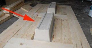Masa de gradina cu blat din lemn