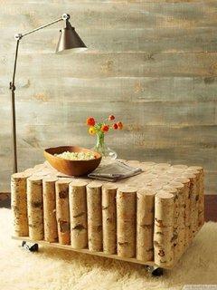 Masuta de cafea din lemn