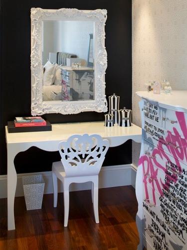 Masa de toaleta o oglinda vintage