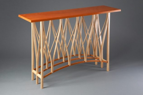 Design masa bar din lemn