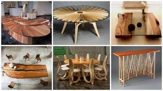 Mese din lemn interesante