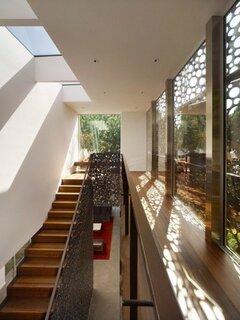 Metal perforat pentru exteriorul ferestrelor