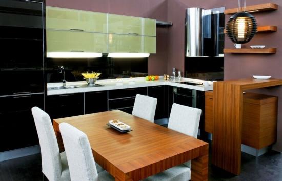Mobila de bucatarie in doua culori - Imagini cu modele pentru inspiratia ta