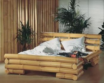 Mobilier dormitor din bambus