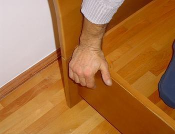 blatul lateral al patului