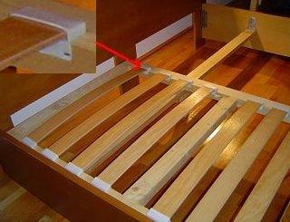 Suport de saltea din lemn