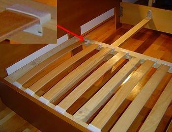 suport pentru saltea din lemn