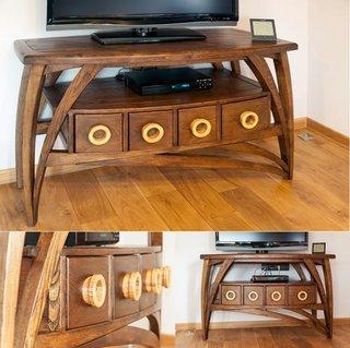 Comoda TV din lemn