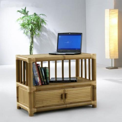 Comoda realizata din lemn de bambus