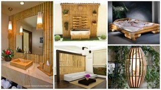 Mobilier si decoratiuni din bambus