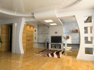 Apartament cu decoratiuni din gips carton