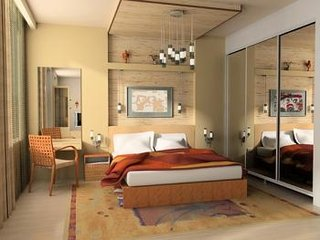 Mobila dormitor tineret dulap usi glisante oglinda