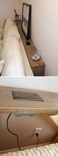 Folosire inteligenta spatiu dupa canapea