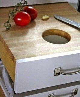 Sertar bucatarie cu functie de tocator
