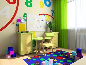 birou si scaun pentru copii