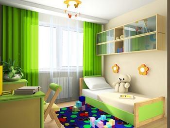 Mobilier Copii | Culoare Verde